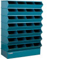 "28 Compartment Sectional Unit, 37""W x 15""D x 58-1/2""H - Blue"