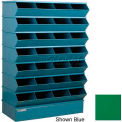 "28 Compartment Sectional Unit, 37""W x 15""D x 58-1/2""H - Green"