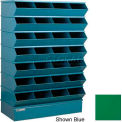 "32 Compartment Sectional Unit, 37""W x 15""D x 58-1/2""H - Green"