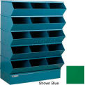 "15 Compartment Sectional Unit, 37""W x 20""D x 53-1/2""H - Green"