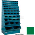 "59 Compartment Multi-Size Sectional Unit 37""W x 24""D x 76""H - Green"