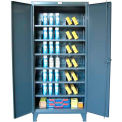 Stronghold Heavy Duty Storage Cabinet With Steel Multi-Dividers 60 x 24 x 78