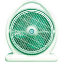 "SPT® Box Fan, 14"" Blade, 3 Speed Fan, Louver Rotation, 2683 CFM"