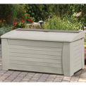 127 Gallon Premium Deck Box with Seat