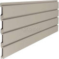 "Suncast® Trends® Garage Storage Slat Wall 48"" W x 3/4"" D x 12"" H Section, Light Taupe"