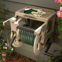 Hosehandler Wall-Mount Hose Reel - Light Taupe