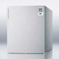 Summit FS22LCSSMED Compact Stainless Steel All-Freezer, -20°C Capable, 1.42 Cu. Ft. Capacity