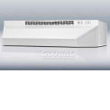 "Summit 30""W Convertible Range Hood For Ducted Or Ductless Use, White Finish"