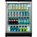Summit Commercially Approved Freestanding Beverage Refrigerator, Lock, Full-Length TB Handle, BK