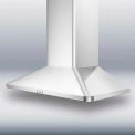 "Summit 36"" European 650 CFM Range Hood, Stainless Steel"