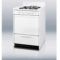 "Summit White Gas Range, Slim 20""W W/Electronic Ignition"