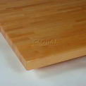 "Sovella Maple Worksurface, Radius Front Edge, 60""W X 24""D X 1-3/4""H"