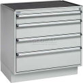"Sovella ESD Drawer Cabinet 75/66 w/Base, 29-1/2""W x 20-1/2""D x 29-15/16""H, 4 Drawer, (4) 5-7/8"""