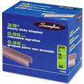 "Swingline® Standard Heavy Duty Staples, 3/8"" Leg Length, 100 Per Strip, 5000/Box"
