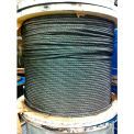 """Southern Wire® 250' 1/4"""" Dia. 6x19 Improved Plow Steel Bright Wire Rope"""