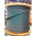 "Southern Wire® 250' 1/2"" Dia. 6x19 Improved Plow Steel Galvanized Wire Rope"