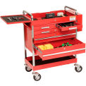 Sunex® Professional 5 Drawer Service Cart w/ Locking Top