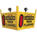 Collision Awareness Large Look Out Sensor, Ceiling Hung, 1 Box, 3 Sensors, 3 Lights, 50' Cord