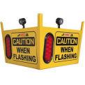 Collision Awareness Large Look Out Sensor, Ceiling Hung, 1 Box, 3 Sensors, 3 Lights, 50' Cord