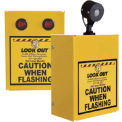 Collision Awareness Hall Door Monitor, Wall Mounted, 2 Boxes, 1 Sensor, 2 Lights, 15' Cord