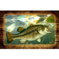 Wildlife Mat - Bass 4' x 6'