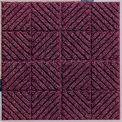 "Waterhog Classic Carpet Tile 21952716000, Diagonal, 18""L X 18""W X 7/16""H, Dark Brown, 10-PK"