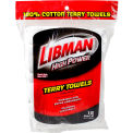 Libman® Commercial All-Purpose Terry Towels - 12-Pack - 590 - Pkg Qty 6