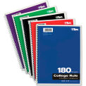 "TOPS® Wirebound 5-Subject Notebook 65071, 8-1/2"" x 10-1/2"", 180 Sheets/Pad, 1 Pad/Pack"