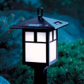Brinkmann 822-0712-4 Cypress Solar Powered Landscape Lights - 4 Light Kit