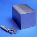 "TCI Tight Tolerance 304 Stainless Steel Machine-Ready Blanks 4"" x 4"" x 4"""