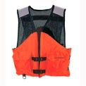 Stearns® Work Zone Gear™ Life Vest, USCG Type III, Orange, Nylon, XL
