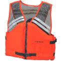 Stearns® Deck Hand™ Life Vest, USCG Type III, Orange, Nylon, 2XL