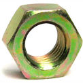 1-1/8 - 12 Finished Hex Nut - Medium Carbon Steel - Zinc Yellow - Grade 8 - UNF - Pkg of 95