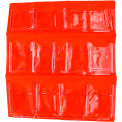 First Aid Door Pouch For 3 Shelf First Aid Cabinet, 12 Pocket