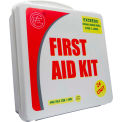 Unitized ANSI First Aid Kit, 24 Unit, Plastic Case