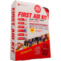 Genuine® First Aid Kit, Deluxe 25 Person Non-ANSI, Soft Case (303 pcs)