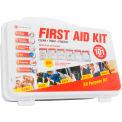 Genuine® First Aid Kit, 10 Person Non-ANSI, Hard Case (101 pcs)