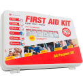 Genuine® First Aid Kit, Deluxe 25 Person Non-ANSI, Hard Case (303 pcs)