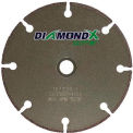 "Edmar 4"" Diamond X Cutter Thin Disc Type 1 - Die Grinder"
