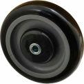 "Fairbanks Polyurethane Tread Wheel 1-1805-BX - 5"" Dia. x 1-1/4""W - 275 Lb. Capacity"