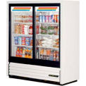 "True® GDM-41SL-54 Convenience Store Cooler 2 Section - 47-1/8""W X 21""D X 54-1/8""H"