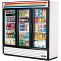 "True® GDM-72 Refrigerated Merchandiser 3 Section - 78-1/8""W X 29-7/8""D X 79-3/8""H"