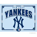 "The Memory Company MLB Logo Mirror - New York Yankees, 23""W x 18""H"