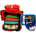 First Voice™ Jump Bag First Aid Responder Kit with AED