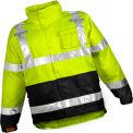 Tingley® J24122 Icon™ Jacket, Fluorescent Yellow/Green/Black, 3XL