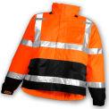 Tingley® J24129 Icon™ Jacket, Fluorescent Orange/Red/Black, 4XL