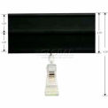 """Sign Holder 2-Track 2-3/4""""H x 4""""W with Swivel Clip"""