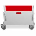 "TrippNT™ 51512 Element Healthcare Cart Cardiac Board, 28""W x 2""D x 15""H"