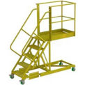 "Supported 5 Step 40"" Cantilever Ladder - Perforated"