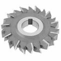 """Made in USA HSS Staggered Tooth Side Milling Cutter 2-1/8"""" Dia X 1/4"""" Width 3/4"""" Arbor"""